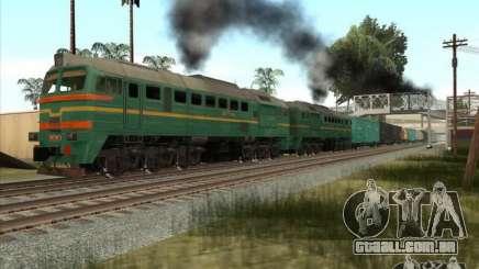 Estados bálticos locomotiva frete ferroviário imagens-1184 para GTA San Andreas