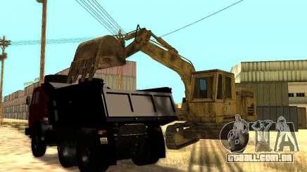 Máquina escavadora para GTA San Andreas