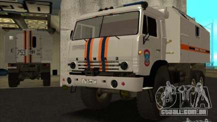 KAMAZ MES versão 2 para GTA San Andreas
