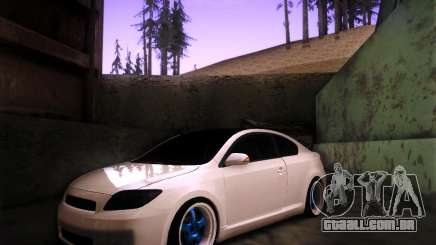 Scion tC Blue Meisters para GTA San Andreas