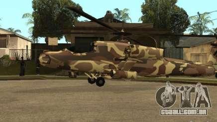 Novas texturas para o caçador para GTA San Andreas
