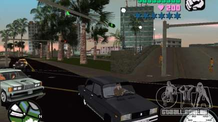 2105 Vaz para GTA Vice City
