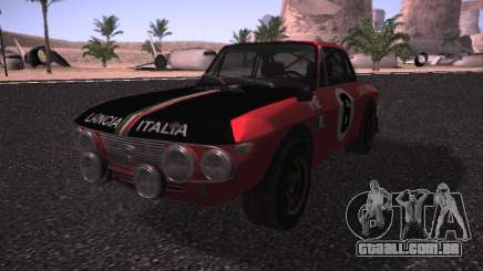 Lancia Fulvia Rally para GTA San Andreas