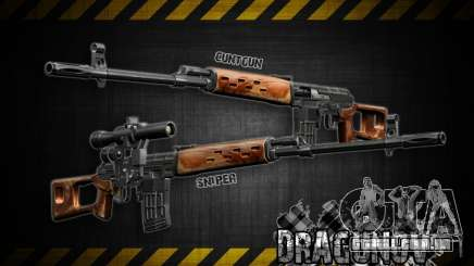 Dragunov sniper rifle v 1.0 para GTA San Andreas