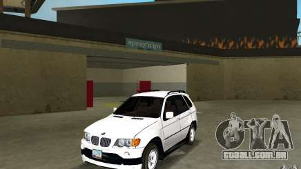 BMW X5 para GTA Vice City