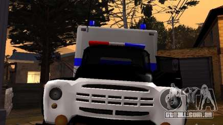 ZIL 130 polícia para GTA San Andreas