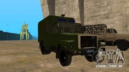 GAZ 3309 camburão para GTA San Andreas