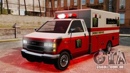 Primeiros socorros Monster Energy para GTA 4