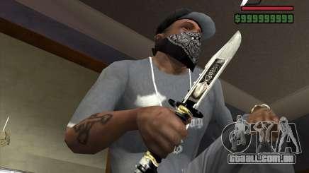 A faca de n º 5 do perseguidor para GTA San Andreas