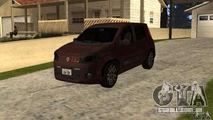 Fiat Novo Uno Sporting para GTA San Andreas
