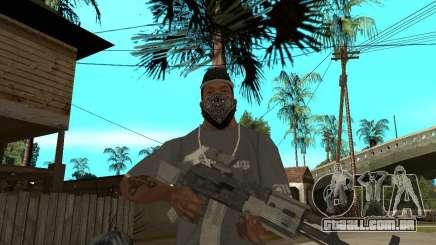 AK47 com a mira óptica padrão para GTA San Andreas