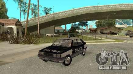 Renault 11 Police para GTA San Andreas