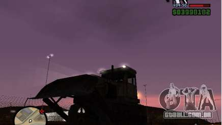 Bulldozer T 130 para GTA San Andreas