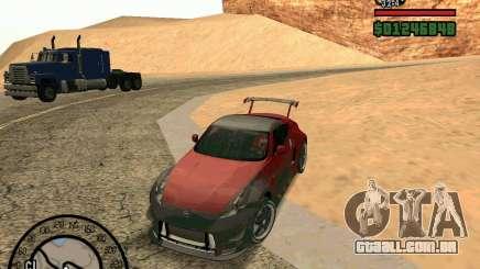 Nissan 370Z Undercover para GTA San Andreas