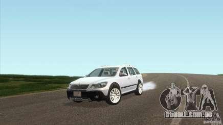 Skoda Octavia Scout para GTA San Andreas