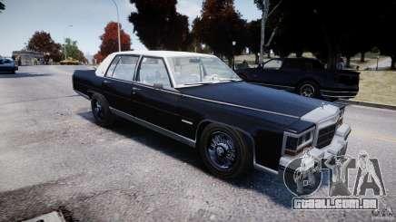 Cadillac Fleetwood Brougham 1985 para GTA 4