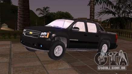 Chevrolet Avalanche para GTA San Andreas