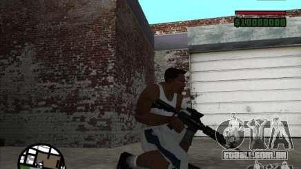 I AM Legend M4A1 para GTA San Andreas
