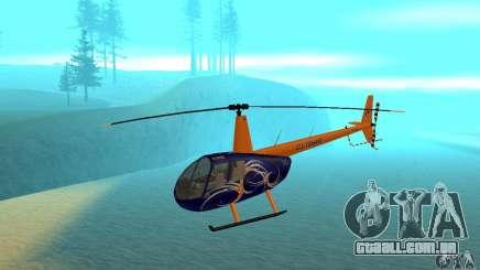 Robinson R44 Raven II NC 1.0 pele 3 para GTA San Andreas