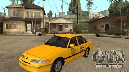 Ford Crown Victoria Taxi 1992 para GTA San Andreas