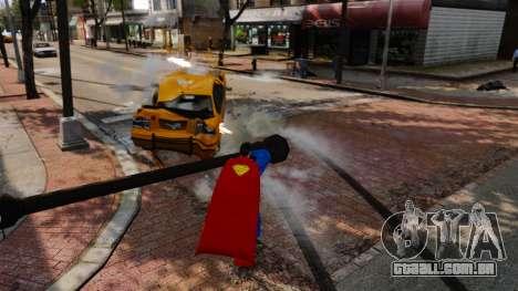 Script para o Super-homem para GTA 4 sétima tela