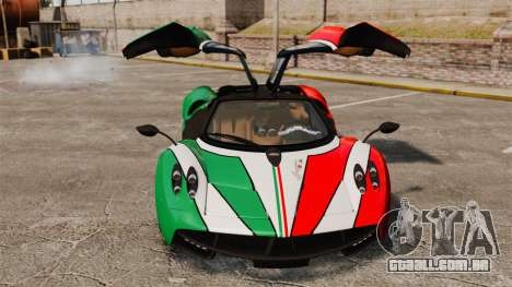 Pagani Huayra 2011 [EPM] Italian para GTA 4 vista lateral