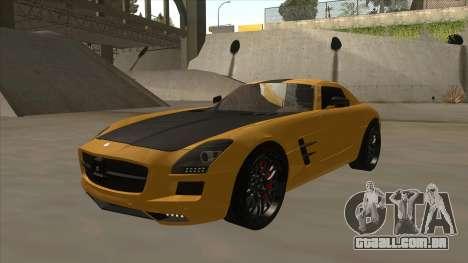 Mercedes SLS AMG Hamann 2010 V1.0 para GTA San Andreas