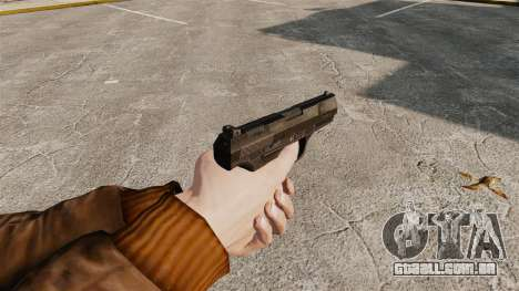 Walther P99 pistola semi-automática v4 para GTA 4 segundo screenshot