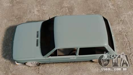 Volkswagen Brasilia para GTA 4 vista direita