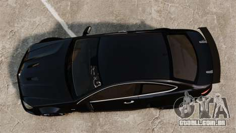 Mercedes-Benz C63 AMG BSAP (C204) 2012 para GTA 4 vista direita