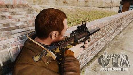 V6 de pistola-metralhadora belga FN P90 para GTA 4 segundo screenshot