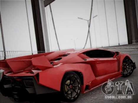 Lamborghini Veneno para vista lateral GTA San Andreas