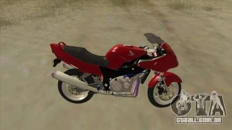 Honda CBR1100XX para GTA San Andreas esquerda vista