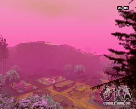 Pink NarcomaniX Colormode para GTA San Andreas