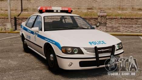 Montreal Polícia v2 para GTA 4