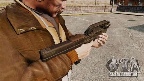 Pistola-metralhadora de MagPul FMG-9 para GTA 4 segundo screenshot