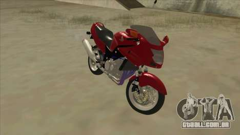 Honda CBR1100XX para GTA San Andreas