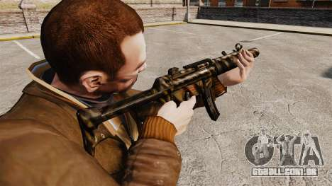 Pistola-metralhadora MP5SD V8 para GTA 4 segundo screenshot