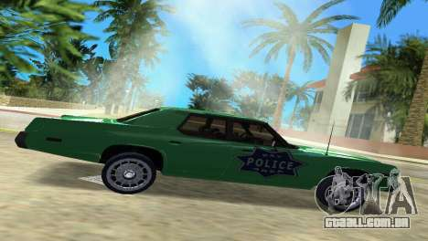 Dodge Monaco Police para GTA Vice City deixou vista