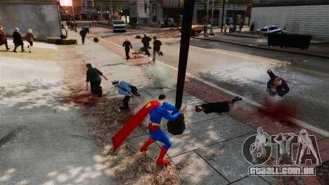 Script para o Super-homem para GTA 4 oitavo tela