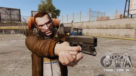 Pistola Glock 20 para GTA 4 segundo screenshot