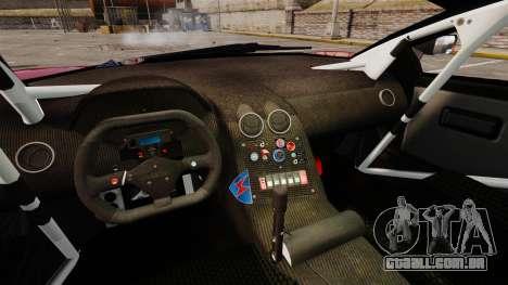 Lamborghini Murcielago RGT para GTA 4 vista interior