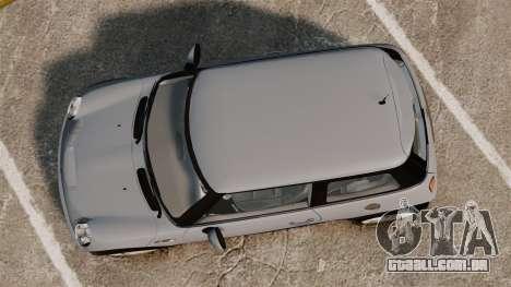 Mini Cooper S 2008 v2.0 para GTA 4 vista direita