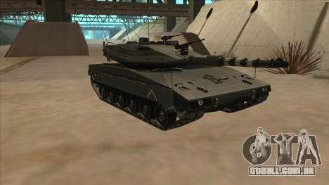 Merkava IV para GTA San Andreas