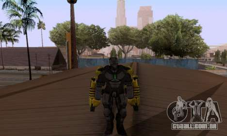 Skins Pack - Iron man 3 para GTA San Andreas terceira tela