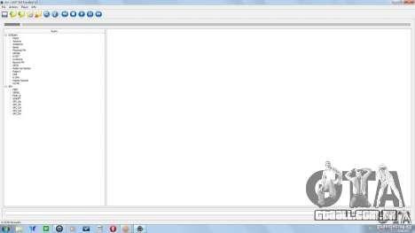 Alcis SAAT GUI FrontEnd 1.0 para GTA San Andreas