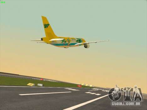 Airbus A320-211 Cebu Pacific Airlines para GTA San Andreas