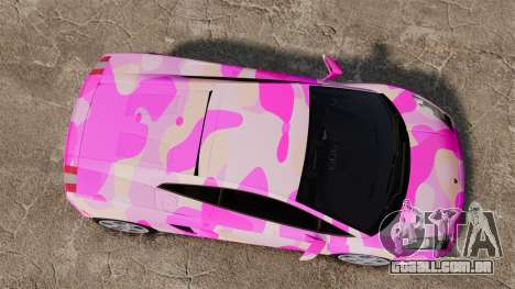 Lamborghini Gallardo 2005 [EPM] Pink Camo para GTA 4 vista direita