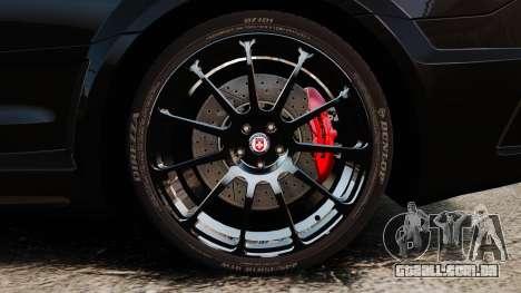Mercedes-Benz C63 AMG BSAP (C204) 2012 para GTA 4 vista de volta