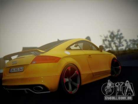Audi TT RS 2013 para GTA San Andreas vista direita